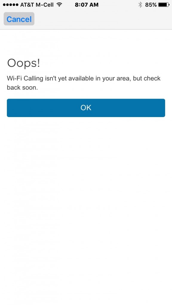 How to activate Wi-Fi Calling on iOS 9 for AT&T using iPhone 5s