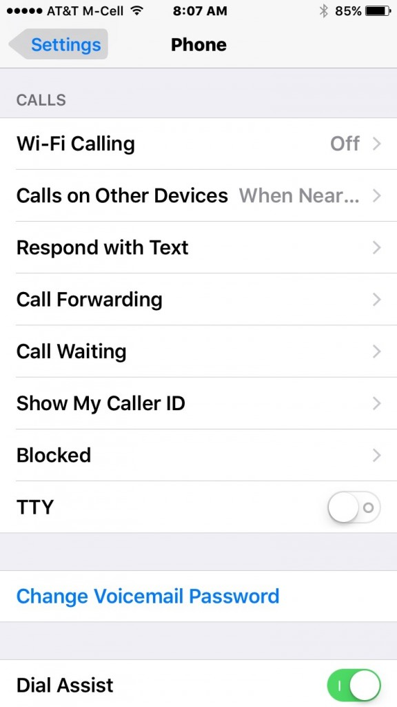 How to activate Wi-Fi Calling on iOS 9 for AT&T using iPhone 6s